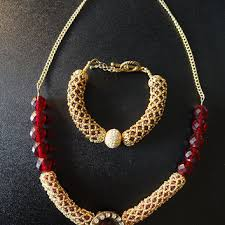 Handmade Seed Beaded Gold Plated Best Seed Bead Stitching Products On Wanelo