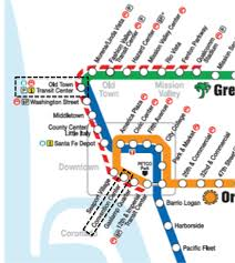San Diego Public Transportation Map by Nanoparticles Org Surface Modification Course Registration