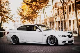 bmw m3 stanced dynamic aesthetics alex goldstein u0027s e92 m3 stanceworks
