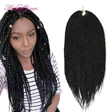 ombre crochet braids 2018 cheap ombre pretwist 3s crochet box braids hair extensions