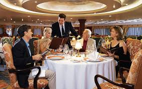 Grand Dining Room The Grand Dining Room Continental Cuisine Oceania Cruises