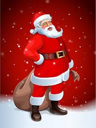 santa claus greeting card xmasblor