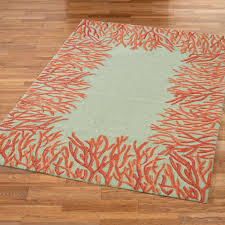 Beach Themed Area Rugs Blue And Turquoise Angelfish Rug Big White Dresser Astounding
