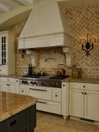 Small Galley Kitchen Makeover With Brick Backsplash For The Home - Brick backsplash tile