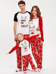 2017 rudolph deer matching family pajama m in