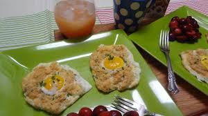 meatless monday cloud eggs