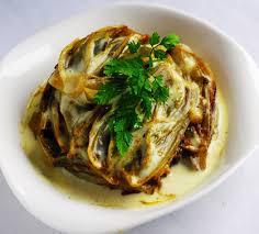 cuisiner des endives endives braisées à la crème et au curry recette endives braisées