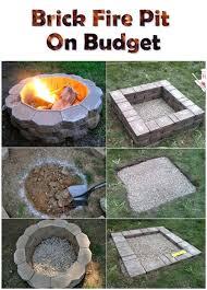 Build Backyard Fire Pit Build A Outdoor Fire Pit U2013 Jackiewalker Me