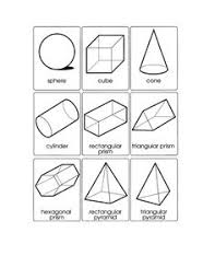 3d shapes worksheet matematiikka pinterest 3d shapes