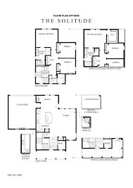David Weekly Floor Plans Solitude New Homes Utah