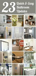 updated bathroom ideas best 20 easy bathroom updates ideas on no signup