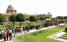 opening time of the mugal garden rashtrapati bhavan 2016 for