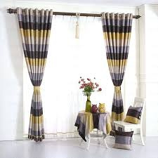 Blue And Striped Curtains Yellow Striped Curtains Yellow Striped Curtains Blue Striped