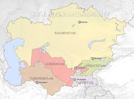 Asia Maps by Central Asia Maps