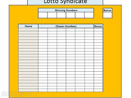 Lottery Syndicate Spreadsheet Excel Lotto Syndicate Spreadsheet For Sale In Drogheda Louth From