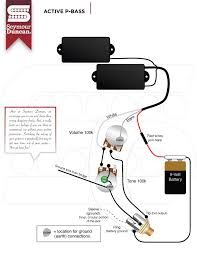 bass guitar wiring diagram diagram wiring diagrams for diy car