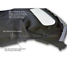 porsche boxster top porsche boxster 1997 2002 convertible top window black