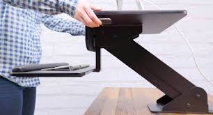 Cubicle Standing Desk Shop Height Adjustable Standing Desk Converters By Uplift Desk