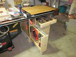 where can i borrow a table saw table saw end woodworking bench by kayakguy lumberjocks com