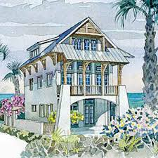 Small Beach Cottage House Plans Craftsman Beach Cottage House Plans House Plans