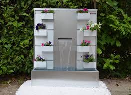 idee de jardin moderne jardin avec fontaine