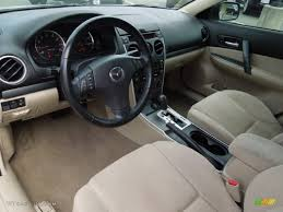 mazda interior 2010 beige interior 2008 mazda mazda6 i sport sedan photo 62208431