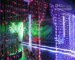 decoration lights for party 400 led curtain light led light string decoration light holiday