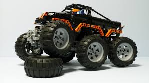 monster truck videos free lego technic monster truck 6x6 youtube