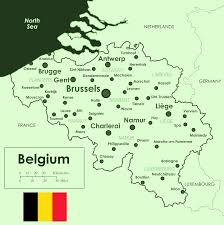 Where Is Brussels Belgium On A Map Map Of Belgium Overview Map Cities Worldofmaps Net Online