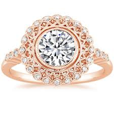 14k rose gold alvadora diamond ring from brilliant earth victorian