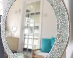 Beachy Bathroom Mirrors Mirror Etsy