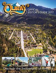 ouray official visitors guide 2017 by ballantine communications