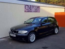 Bmw 116i 2006 Bmw 116i 5 Door Black Nationwide Delivery Card Facility