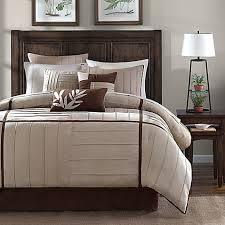 Madison Park Laurel Comforter Madison Park Dune 7 Piece Comforter Set In Beige Bed Bath U0026 Beyond