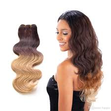 Black To Brown Ombre Hair Extensions by Cheap 10 24 Inch Ombre Dyed Hair Brazilian Hair Extension Body