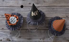 cowboy hat halloween diy halloween witch paper party hats zazzle blog