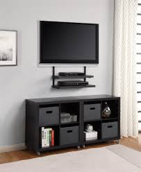 Bedroom Wall Shelves by Shelving Under Wall Mounted Tv Pennsgrovehistory Com