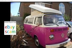 volkswagen camper van ebay scam vw camper van t2 bay westfalia ofb693l fraud ofb