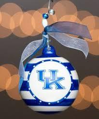 of kentucky basketball ornament world