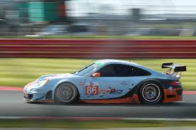 gulf racing no 86 gulf racing uk porsche 997 rsr elms silverstone 2014 by