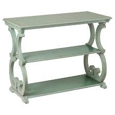 Green Console Table Green Scroll Console