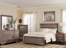 washed taupe panel bedroom set