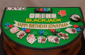 Black Jack Table by 3d Blackjack Table Cake Cake In Cup Ny