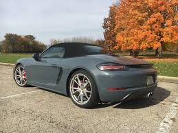 Porsche Boxster Lowered - porsche u0027s turbocharged boxster s squeezes out more with less