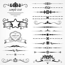 retro object decorative ornaments frames vector 07 vector frames