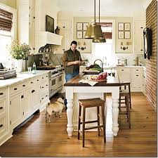 farm table kitchen island southern living kitchen designs southern living kitchen designs