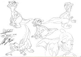 land before time coloring pages petrie in einem vor unserer in