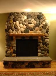 river rock fireplace designs home design ideas