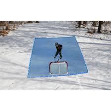 10 u0027 x 20 u0027 easy portable backyard ice hockey rink