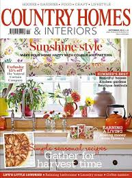 country homes and interiors magazine in the press bardoe appel